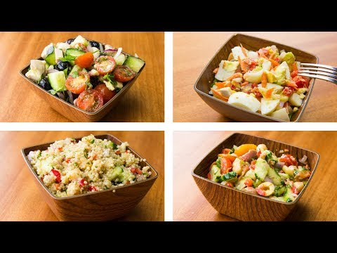 4 Healthy Salad Recipes For Weight Loss | Easy Salad Recipes