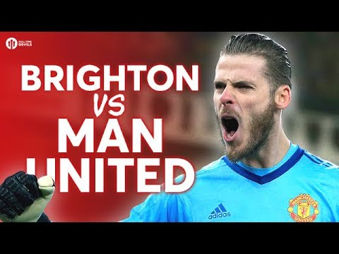 Brighton & Hove Albion vs Manchester United LIVE PREVIEW!