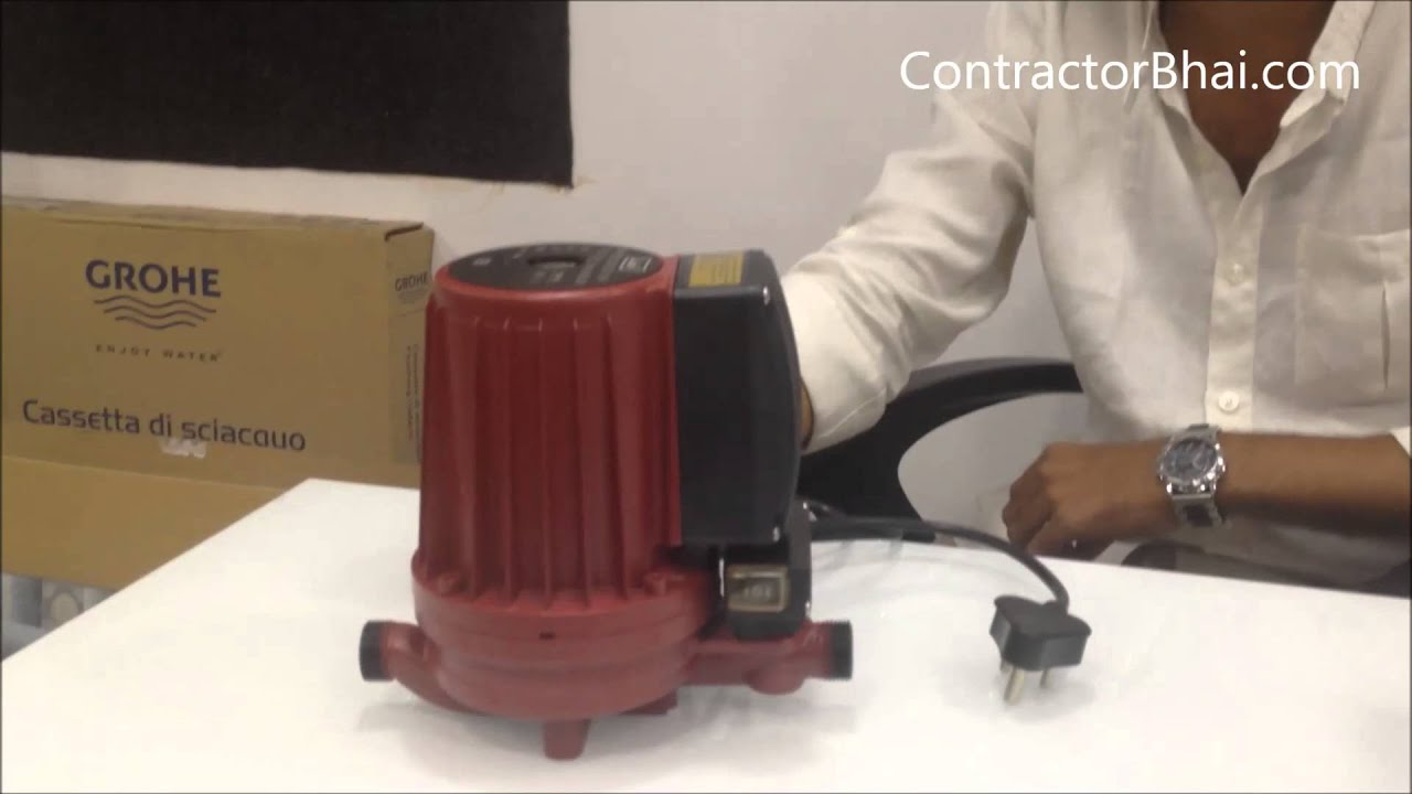 Bathroom Shower Booster Pump by ContractorBhaicom  YouTube
