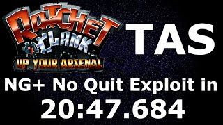 [TAS] Ratchet & Clank 3: Up Your Arsenal in 20:47.684