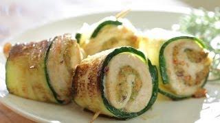 Chicken zucchini bites with pistachio recipe