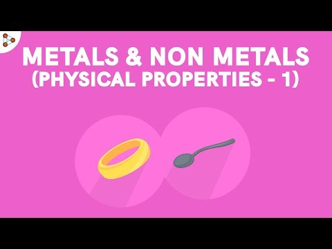 Metals and Nonmetals - Physical Properties Part 1 CBSE 8