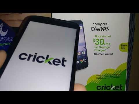 Cricket Vision desbloquear pantalla Quitar PIN Contraseña Patron
