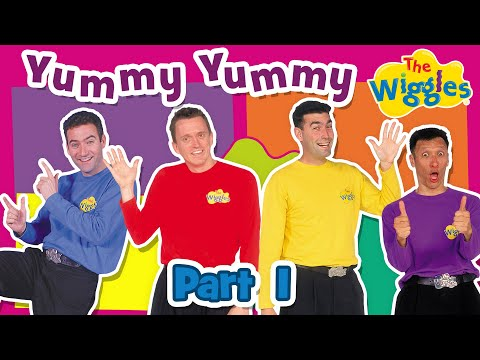 The Wiggles: Yummy Yummy (1998 Version) - Part 1 Of 3