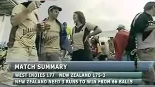 Video New zealand vs West Indies 2007 cricket world cup part 4 download MP3, 3GP, MP4, WEBM, AVI, FLV Mei 2017