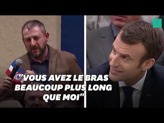 À Souillac, ce maire promet à Emmanuel Macron un discours sans langue de bois et tient parole