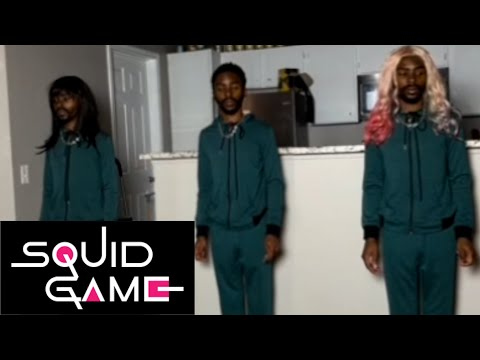 If Black People Were In SQUID GAME  