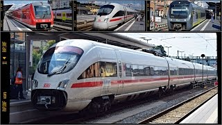 Züge Passau Hbf, 15.08.2016