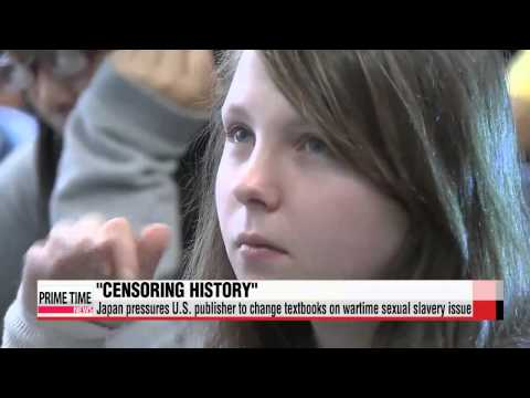 """U.S. scholars protest Japan′s attempts to """"censor history""""   미국 역사학자 1"""