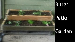 Diy - 3 Tier Vertical Garden For Your Apartment