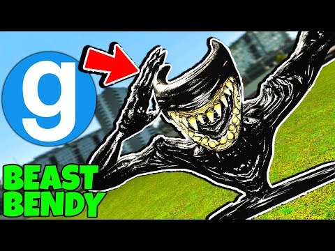 Brand New Beast Bendy Ragdoll! Bendy and The Ink Machine Chapter 5 Gmod BATIM (Garry's Mod) thumbnail