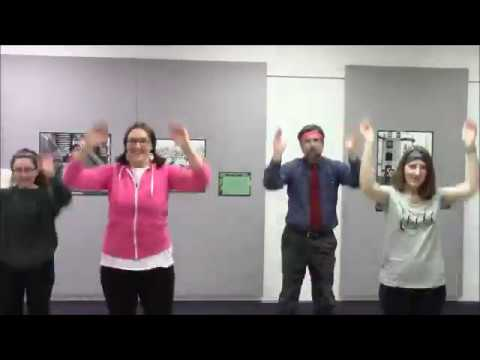 Dancing With Museums: An Instructional Dance Video