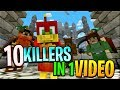 10 KILLERS IN ONE VIDEO !! - The Craziest Murder Mystery ive ever played
