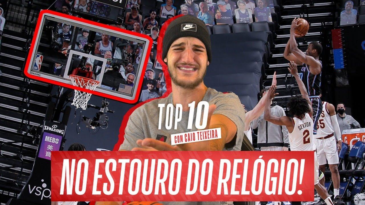 TOP 10 COM CAIO TEIXEIRA #24 – CESTA NO ÚLTIMO SEGUNDO!