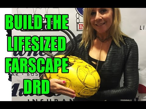 Farscape DRD Lifesize Replica Build-up prop tutorial