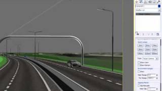 3DS Max Design: Rendern von Animierten Kameras mit Civil Visualization Extension (Dynamite VSP)