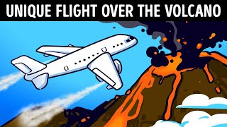 All 4 Engines Failed Over a Volcano, See What Happened Next