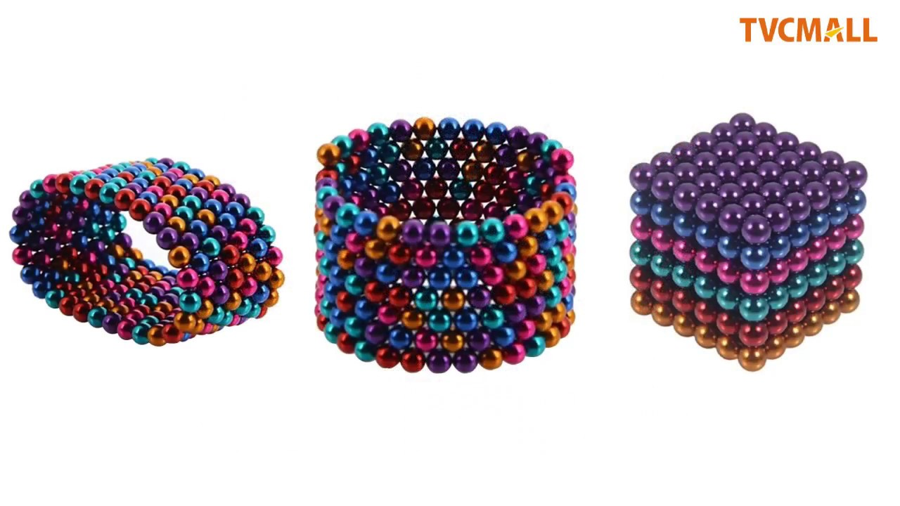 6-color DIY Magnetic Balls Magnet Buckyballs Neocube