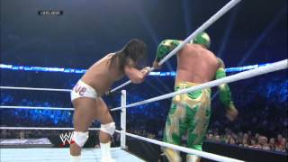 Bo Dallas debuts against Sin Cara: SmackDown, May 23, 2014