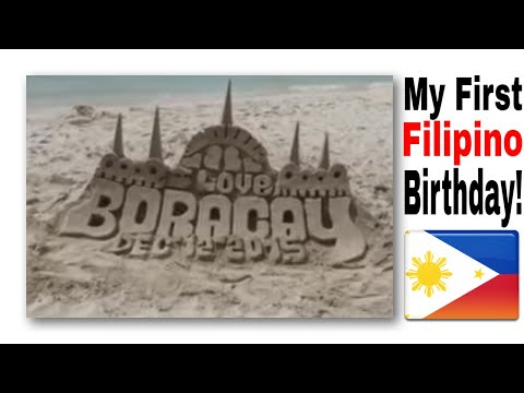 Birthday in Boracay Philippines Day 1!!