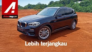 BMW X3 sDrive20i 2019 First Impression Review by AutonetMagz