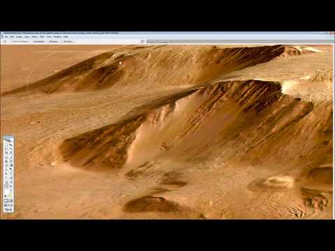 Industrial complex on Olympus Mons