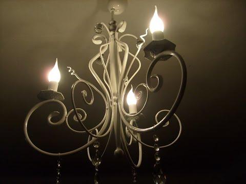 Самодельная люстра своими руками.blacksmith chandelier.