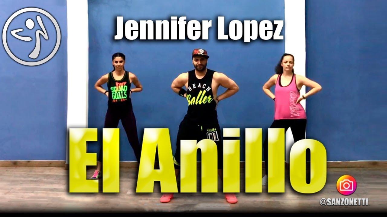 1a3336539660 Jennifer Lopez El Anillo Coreografia Zumba Sanzonetti - YouTube