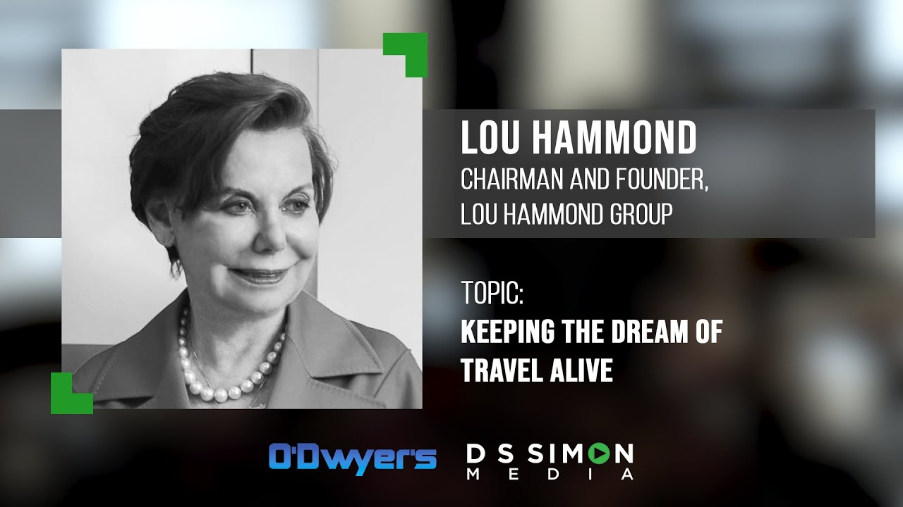 """""""Keeping the Dream of Travel Alive"""": PR Talk @ O'Dywer's"""