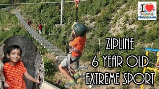 Zipline @ IKya Adventures, Mussoorie | Comedy Video | Funny Video