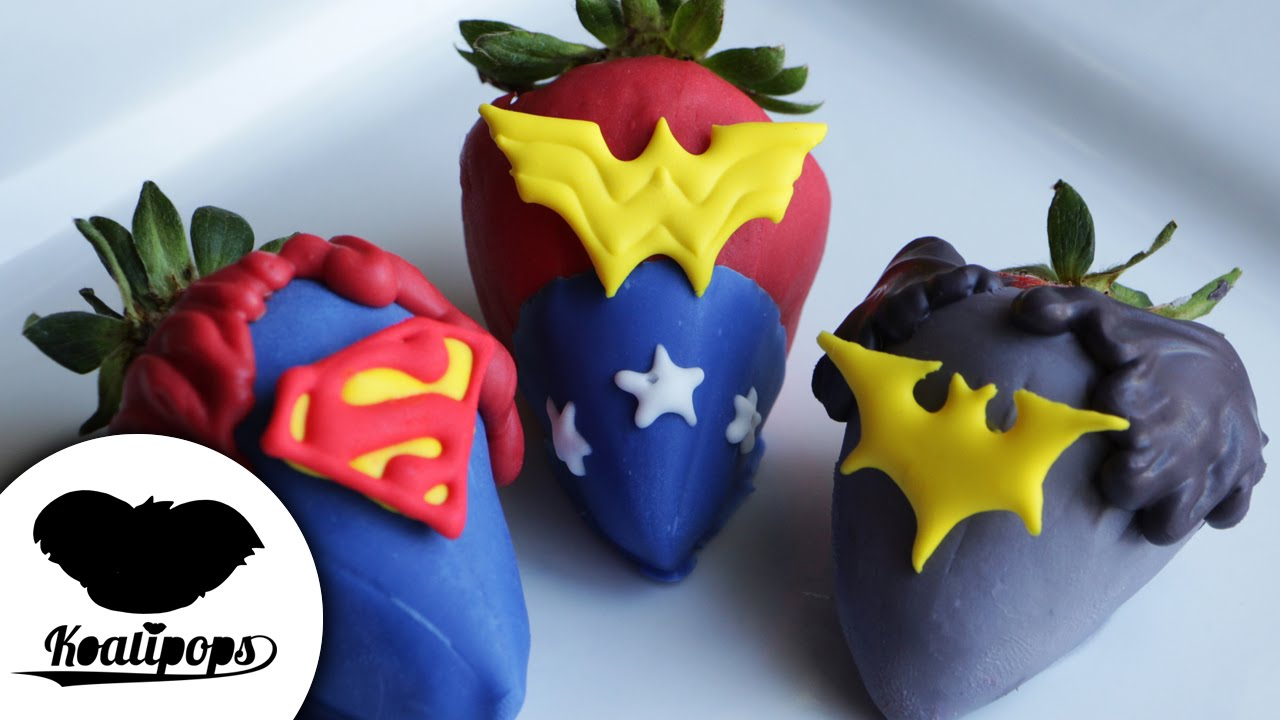 Justice League Strawberries How To Batman V Superman