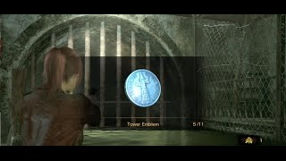 Resident Evil Revelations 2 - All Collectibles Episode 3 (Emblems, Kafka Drawings, Insect Larvae)