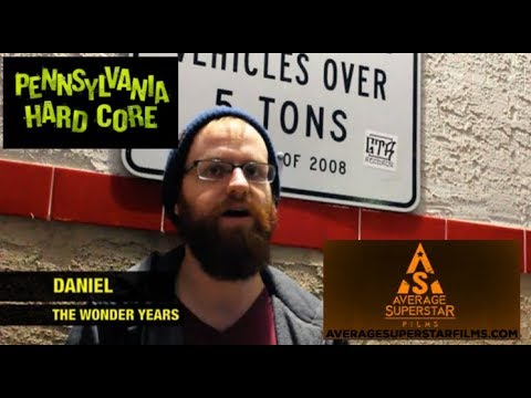 Pennsylvania Hardcore Documentary (FULL INTERVIEW #14) with Dan Campbell of (The Wonder Years)