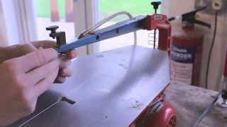 How To Replace A Scrollsaw Blade - Resistant Materials - Design & Technology (dt D&t)