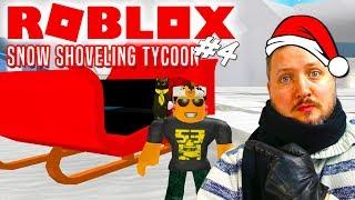JULEMANDENS SL-DE🎅! - Roblox Snow Shoveling Simulator Dansk Ep 4