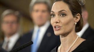 Анджелина Джоли выступила на саммите G8 (новости)