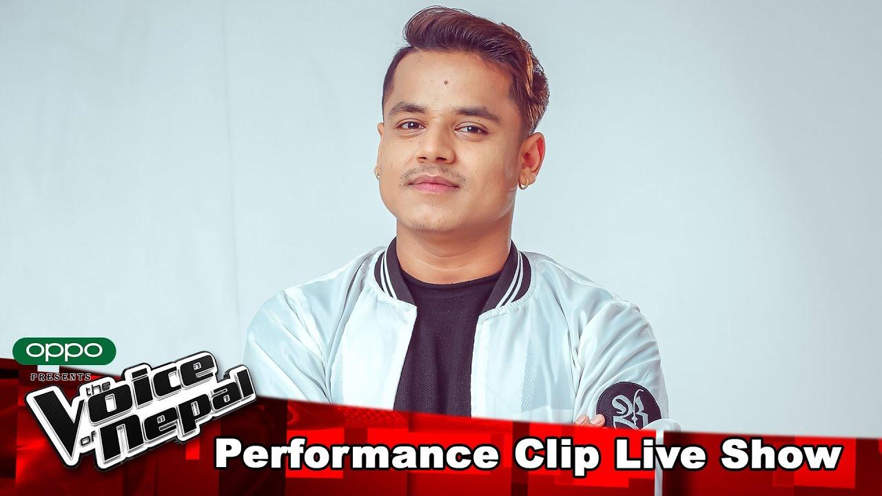 """Kiran Gajmer """"Simali Chaya Ma & Timro Nai Maya""""   LIVE Show Performance   The Voice of Nepal S3"""