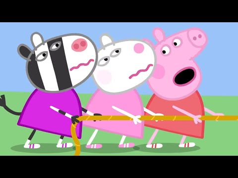 Peppa Pig English Episodes | NEW compilation 8 | 1 HOUR | Cartoons for Children