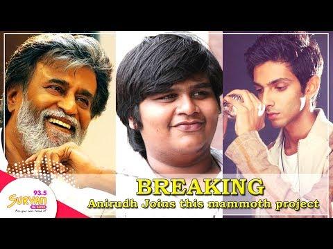 CONFIRMED: Anirudh Ravichander to compose music for Rajinikanth