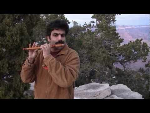 Haunting Indian Melodies at the Grand Canyon by Flute Raman - Flute Lesson CL34