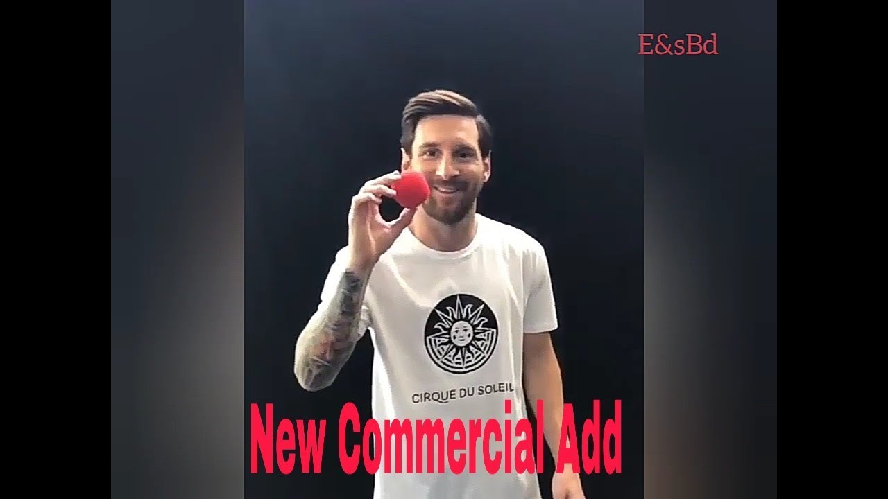 Lionel Messi S New Commercial Adidas Advertisements Youtube