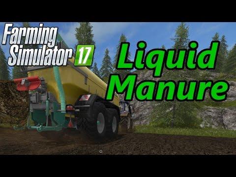 Farming Simulator 17 Tutorial | Liquid Manure (Slurry & Digestate)