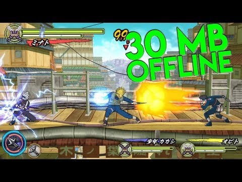 CUMA 30 MB ! GAME NARUTO OFFLINE DI ANDROID - 동영상
