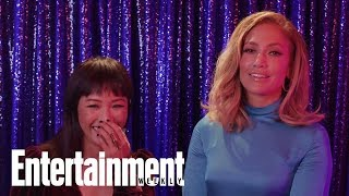 Jennifer Lopez & Constance Wu React To The Songs Of 'Hustlers' | Entertainment Weekly