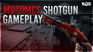 Short M870MCS Ghost Orange Gameplay (Black Squad)