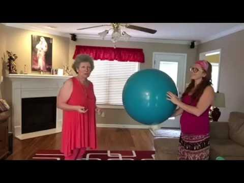 Gender reveal exploding balloon!