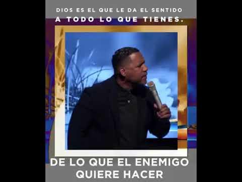 Pastor Ruddy Gracia Dios es el que le da sentido a todo lo que tienes