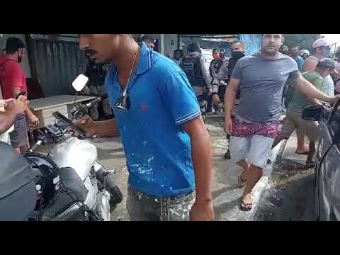 Polícia prende em JP, homem sem roupas em plena via pública.