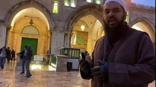 A Tour of the Real Masjid Al-Aqsa - Sheikh Uthman Ibn Farooq