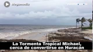 La  Tormenta Tropical Michael, cerca de convertirse en Huracán